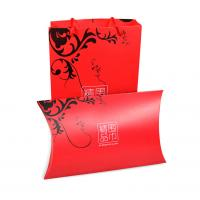 Wholesale Customized Good Quality Foldable Pillow Shaped Style Packaging Paper board Silk Scarf Gift Box from china suppliers