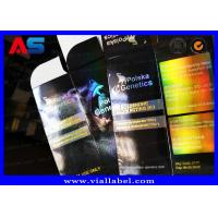 Buy cheap Stamping Hologram Foil Sterial 10ml Vial Boxes Testosterone Propionate / Custom from wholesalers