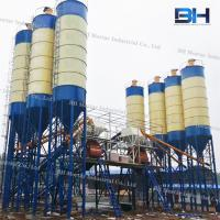 Wholesale Horizontal Twin Shaft Mixer Batching Plant Low Noise For Construction Site from china suppliers