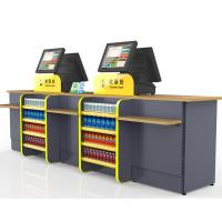 Wholesale Durable Cash Register Counter Stand , Retail Sales Counter Furniture from china suppliers