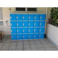 Wholesale Color Door 5 Tier Lockers For Office , Coin Return Lockers For Supermarket from china suppliers