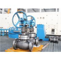 Wholesale 600lb 8 Inch Globe Valve Trim WCB Body Gear With Spherical Disc Design from china suppliers