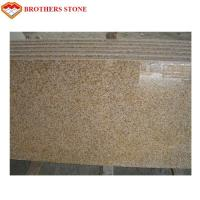 Wholesale Polished G682 Rust Yellow Granite Stone , G682 Granite Double Sink Vanity Top from china suppliers