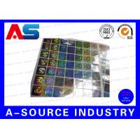 Buy cheap Anti Fake Hologram Security Stickers , Printing 3d Hologram Security Labels from wholesalers