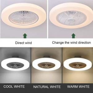Wholesale Remote Control / App Control 40W Ceiling Fan With LED Light For living Room And Bedroom from china suppliers