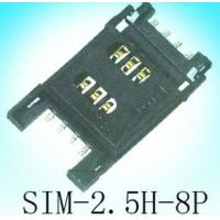 Wholesale 8P SIM Card Connector , sim socket from china suppliers