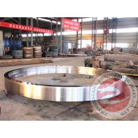 Wholesale High Pressure Rolled Ring Forging Welded For Pipeline , ASTM A388 SS Flange Forging from china suppliers