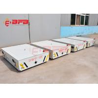 Wholesale 100T Industrial Material Transfer Carts, Turning Coil Transfer Cart On Cement Floor from china suppliers