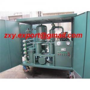 China ZY Transformer Oil Purifier, ZYD Insulating Oil Treatment, ZXY Transformer Oil Purification on sale