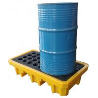Wholesale Iso Oil Drum Spill Containment Pallet Deck IBC Spill Pallet 43-200L Sump from china suppliers