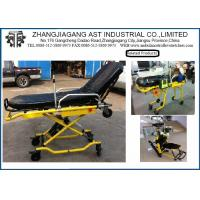 China Hospital Steel Ambulance Stretcher Light weight with button Control on sale