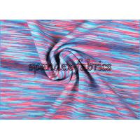 Moisture wicking quick dry polyester spandex rainbow space for Lycra space fabric