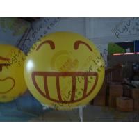 Wholesale Amazing Round Inflatable Advertising Balloon Attractive Smile Design from china suppliers