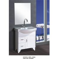 Wholesale 70 X48X85/cm PVC floor mounted bathroom cabinet / bathroom vanity / with mirror for bathroom from china suppliers