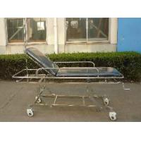 China Foldable Patient Transport Trolley , Disabled Emergency Trolley on sale