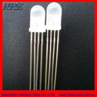 Wholesale 30% off 4pins 5mm RGB Diffused Common Anode LED with RoHS and 2 Years Warranty (HH-501CRGBW503) from china suppliers