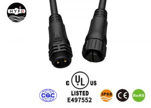 Wholesale Male Female M19 4 Pin Waterproof Connector Molded With Cable from china suppliers
