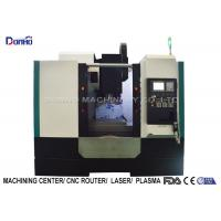 China 3 Color Alarming Lamp CNC Vertical Machining Center For Sanitary Ware on sale
