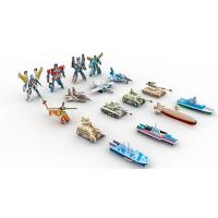Wholesale Collectible Toys | Gifts & Premiums Variety 3D Puzzle 16 Figurines | Ship,Robot,Plane,Tank from china suppliers
