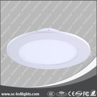 China round led panel lights supplier,18w warm white led round panel lights on sale