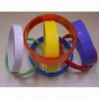 Wholesale PVC Heat Shrinkable Tubes, Used to Seal and Pack Electronic Components, RoHs Certified from china suppliers