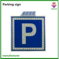 Wholesale Solar led induced sign for traffic safety checking at road side from china suppliers