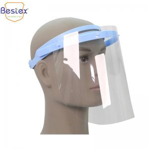Wholesale Anti Fog Dustproof 28*19cm PPE Face Shields With Frame from china suppliers