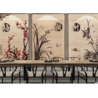 Wholesale Bamboo Printed 27W 48L Roller Natural Woven Shade from china suppliers
