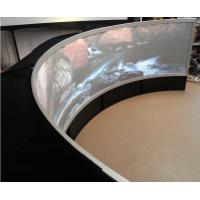 Wholesale Dome Cinema Curved Projection Screen , 4K Woven Fabric Circular Projection Screen from china suppliers