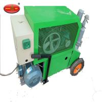 Wholesale good quality 7.5kw Cement auto rendering wall spray Plastering Machine from china suppliers