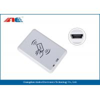 Wholesale Compact NFC RFID Reader Desktop Square NFC Card Reader Integrated Key Handling from china suppliers