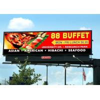 Buy cheap HD outdoor front service P10 P8 P6.67 led billboard display video wall IP65 for advertising and events from wholesalers