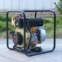 WP40 4-Stroke Portable Manual 4 Inch Diesel water pump for agricultural