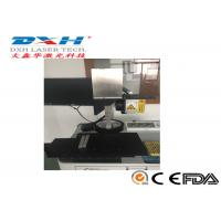 10W 20W 30W Fiber Laser Automatic Laser Marking Machine With Moving Work Table