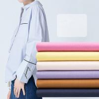 Buy cheap Woven 99x88 Combed 100% Cotton Shirt Fabric For Garment from wholesalers