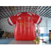 Buy cheap Beatiful Red Inflatable Marketing Products , Rental Inflatable Safety Suit from wholesalers