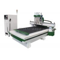 Wholesale Multi - Head Pneumatic ATC Desktop CNC Router Machine For MDF Panel / Acrylic from china suppliers