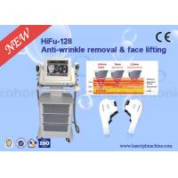 "Wholesale 10.4"" Colour Touch Screen 3D HIFU facial lifting Machine 4Mhz / 7Mhz Energy For Shaping V Face from china suppliers"