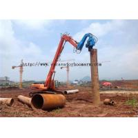 Wholesale 40-45 TON Excavator Vibro Hammer For Sheet Pile Driving 360 degrees rotatory from china suppliers