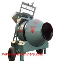 JZC350 Small Chinese Portable Mobile Type Concrete Mixer With Pump for sale