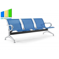 Wholesale 3-6 Seaters Stainless Steel Medical Office Waiting Room Chairs / Airport Seaters from china suppliers