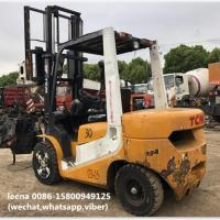 Buy cheap used 3ton tcm forklift FD30T7 originally made in japan in 2010 low working hrs from wholesalers