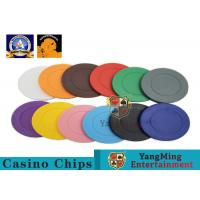 Wholesale Lightweight ABS Hotstamping Logo Dice Poker Chip / Colorful Roulette Poker Chips from china suppliers
