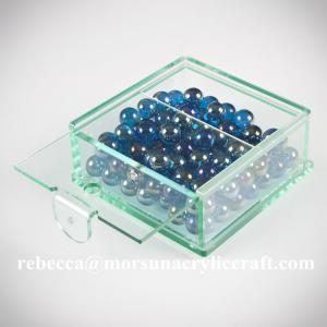 Buy cheap customized clear plexiglass storage box hot selling acrylic