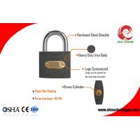 Quality Small Safety Iron Padlock Iron With Steel Shackle Use for Boxes, Door or for sale