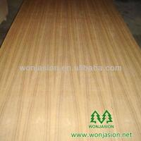 4 8 Top Grade Plywood Laminated With Natural Teak Veneer