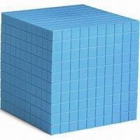 Wholesale Plastic Base 10 Cube, Available in Blue, Measures 10 x 10 x 10cm from china suppliers