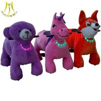 China Hansel animal scooter for mall and safari motorcycle anima ride with stuffed go karts motorized animals sale on sale