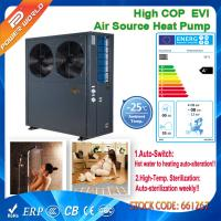China EN14511 Low Temperature Air to Water Heater Pump to Heated Floor Sanitary Hot Water on sale