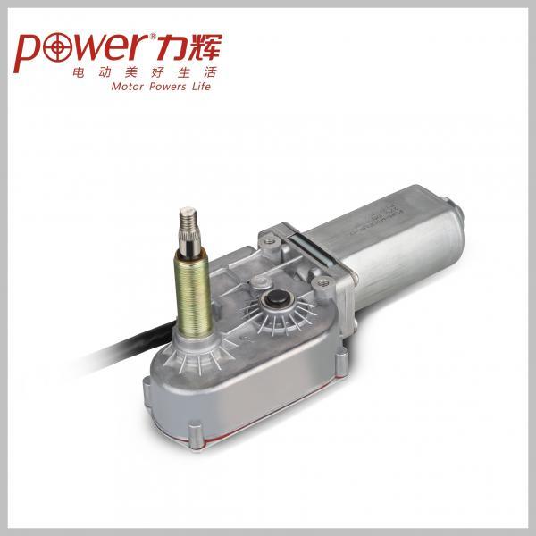 Variable Speed Windscreen Wiper Motor 27 V Dc Worm Gear